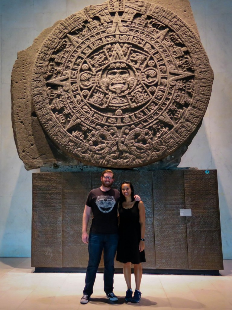 The Aztec Stone of the Sun, previously thought to be a depiction of the calendar.